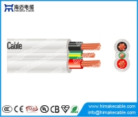 Кита SAA certified flat TPS electric cable 450/750V завод