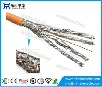 China SFTP Cat7 cable CCA BC conductor factory