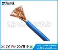 China Single core LSZH insulated Flexible Electrical Wire Cable 300/500V 450/75V factory