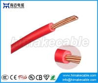 China Single core PVC insulated strand copper electric wire 300/500V 450/750V factory
