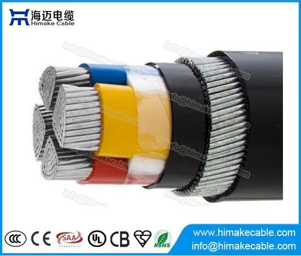 Aluminium Leiter Stahldraht gepanzerten XLPE isolierte Kabel 0,6/1KV ...