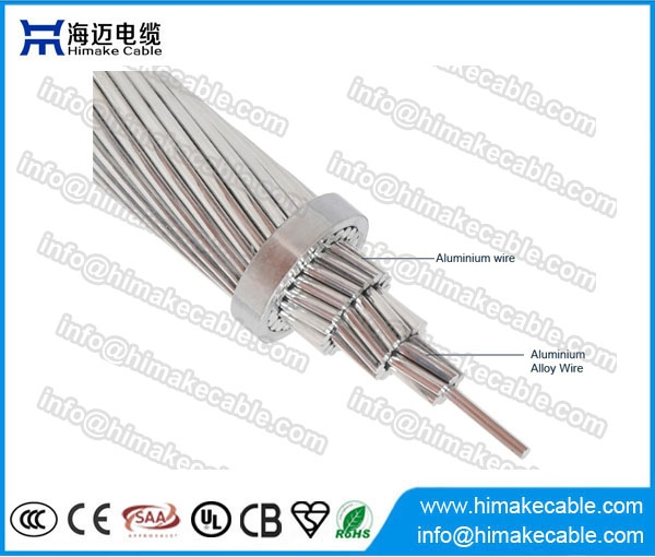 Bare Conductor ACAR Aerial Cable Aluminum Alloy Reinforced