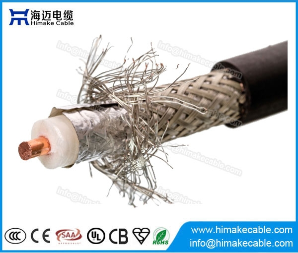 China manufacturer RG8 coaxial cable for CCTV CATV - China electric ...