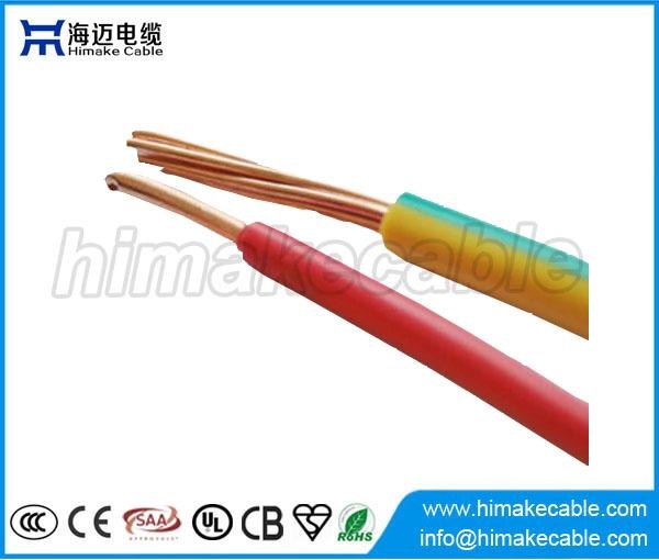 Flammschutzmittel Single Core isoliert elektrische Draht 450/750V ...
