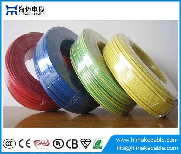 Flame Retardant Single Core Pvc Insulated Electric Wire