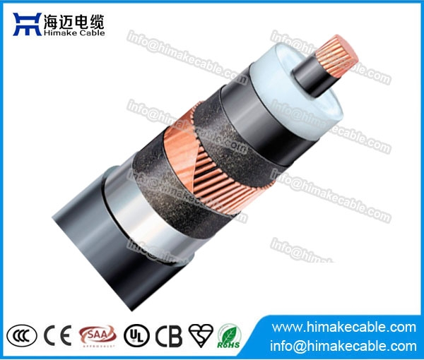 HV XLPE Insulated Lead Sheath Power Cables With Rated Voltages Up To 500KV