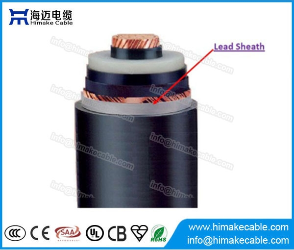Hv Xlpe Insulated Lead Sheath Power Cables With Rated