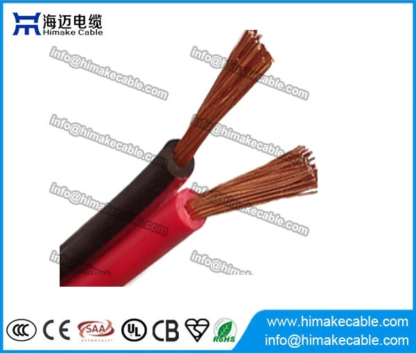 PVC insulated Flexible Parallel Electrical Wire/Cable 300/300V ...