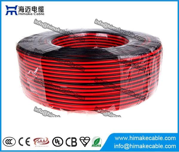 PVC-isolierte Flexible elektrische Draht/Parallelkabel 300/300V ...