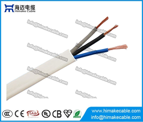PVC insulated and sheathed Flat Flexible Electrical Wire/Cable 300 ...