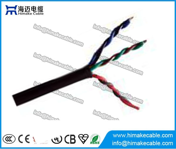 PVC insulated and sheathed Flexible Twisted Electrical Wire Cable ...