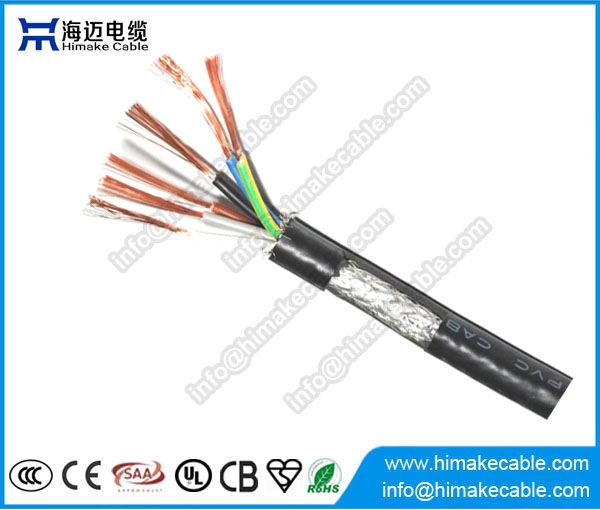 Flexible Pvc Cable 240mm2 Control : Экранированный ПВХ изоляцией гибкий контрольный кабель