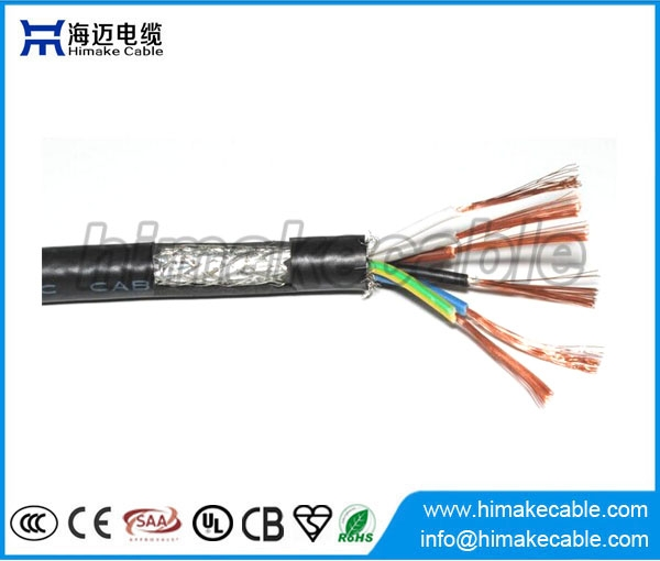 Screened PVC insulated and sheathed Flexible Electrical Wire Cable ...