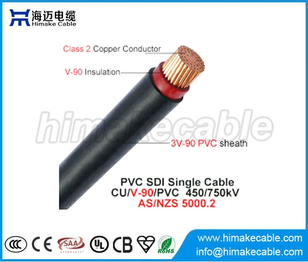 Pvc Insulation Cable : Single core pvc insulated and sheathed sdi cable
