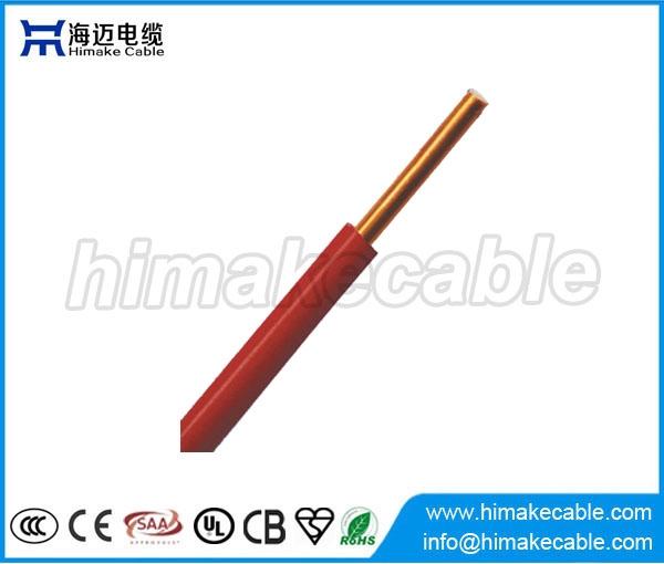 Single core PVC insulated solid copper electric wire 300/500V 450 ...