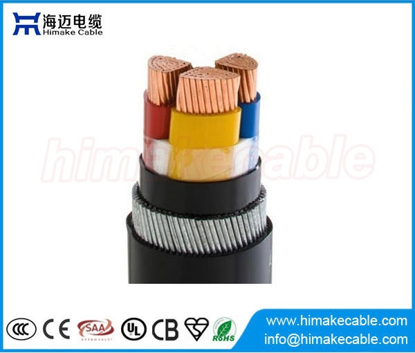 Steel wire armored PVC insulated Power Cable 0.6/1KV - China ...