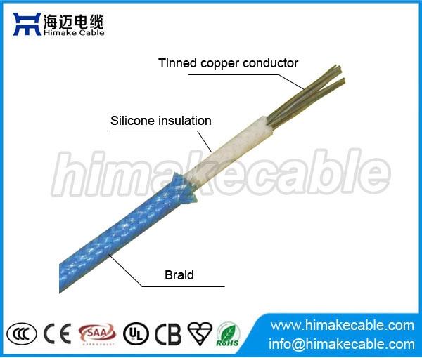 Silicone Insulated Wire : Ul tinned copper conductor silicone insulated